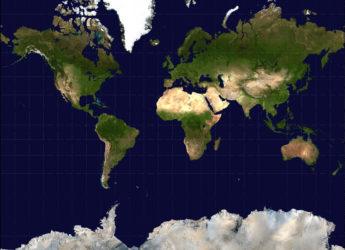 Карта мира, дефицит йода