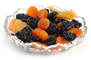 сухофрукты вместо сладостей